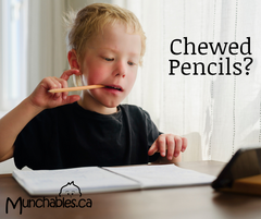 Stop your child chewing their pencils and pens with Munchables