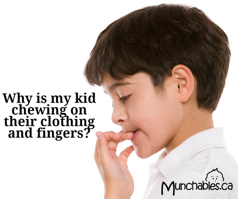 Why Does My Child Chew Their Fingers and Clothing