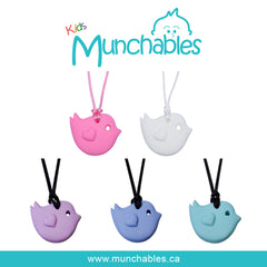 Munchables Little Bird Pendants