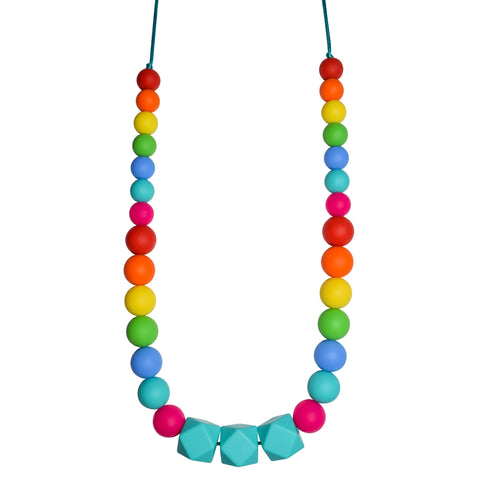 Rainbow Geo Necklace