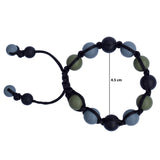 Munchables Adjustable Chew Bracelet size small has an inner diameter of 4.5-5.5cm, medium: 5-6cm and large: 6 to 7cm.