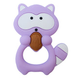 Munchables Hand-Held Fidget Toy Purple Raccoon Chew.