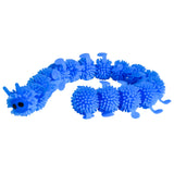 Munchables Blue Caterpillar Sensory Fidget Toy