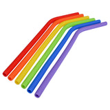 Silicone Straws (Set of 6)