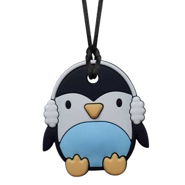 XL Baby Penguin Chew Necklace (Mild Chew)