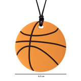 XL Basketball Chew Necklace (Mild Chew)