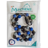 Munchables Camo Sensory Chew Necklace in recloseable zip-lock bag which is ideal for clean, easy storage.