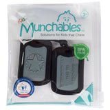 Munchables Chewable Military Dog Tags in reusable package.