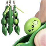 3 Peas in a Pod Keychain Fidgets (Set of 3)