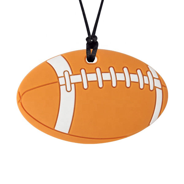 XL Football Chew Necklace (Mild Chew)