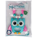 Munchables Owl Chew Necklace in Reuseable Package.