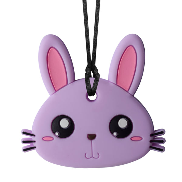 XL Bunny Chew Necklace (Mild Chew)