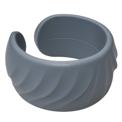 Munchables Teen Cuff Chew Bracelet in Grey.
