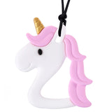 XL Unicorn Chew Necklace (Mild Chew)