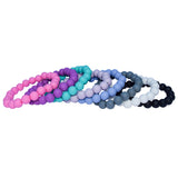 Munchables Chew Bracelets in solid colours.