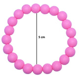 Munchables Solid Colour Chew Bracelets have an inner diameter of 5cm.