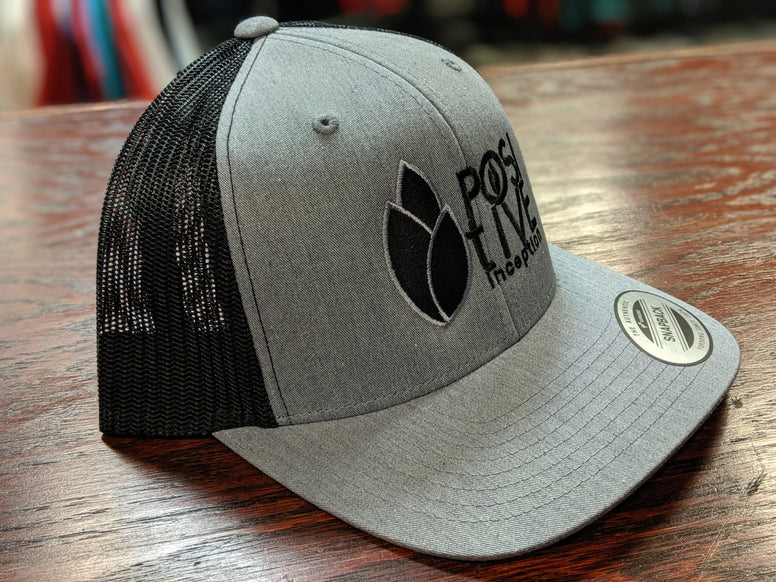 Positive Inception Black and Grey Hat