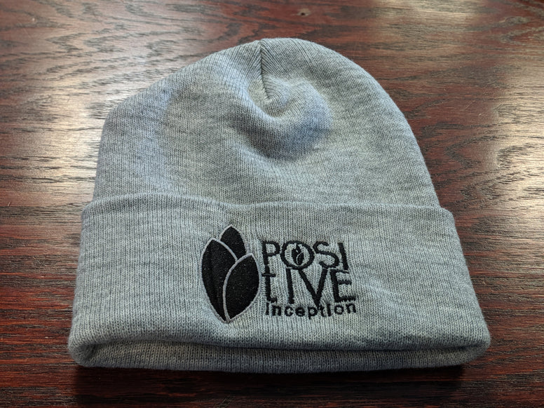 Heather Grey Positive Inception Toque