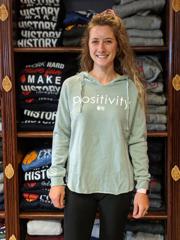Women's Positivity Sage Light Pullover Hoodie
