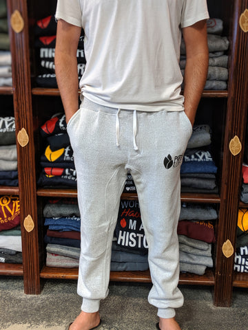 Unisex White Nantucket Track Pants