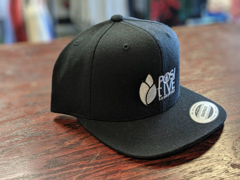 YOUTH - Positive Inception Black and White Classic Snapback hat