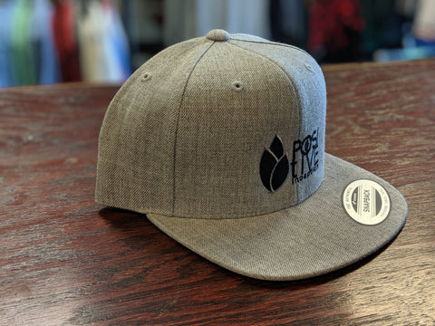 YOUTH - Positive Inception Light Grey and Black Classic Snapback hat