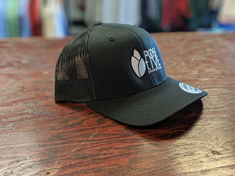 YOUTH - Positive Inception all Black Mesh Snapback hat