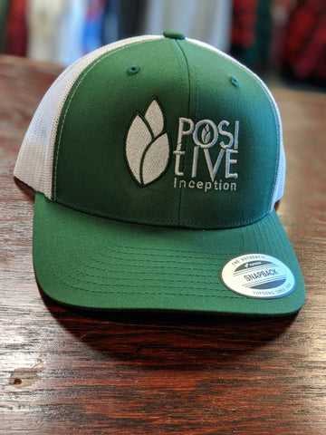 Positive Inception Evergreen and White Hat
