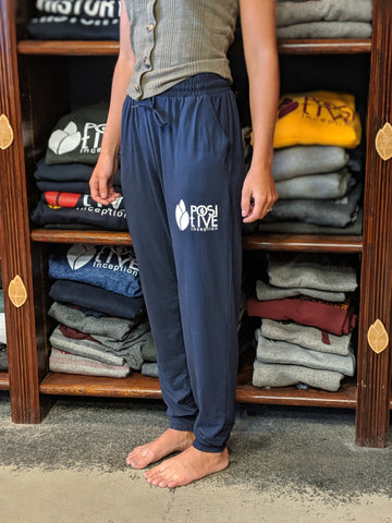 Unisex Positive Inception Navy Blue Joggers