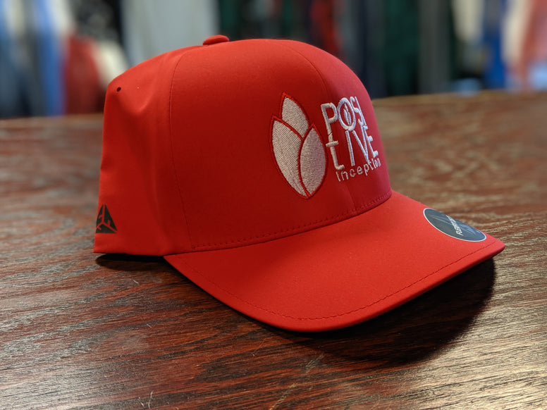 Red Positive Inception Dry-Fit Full back Hat