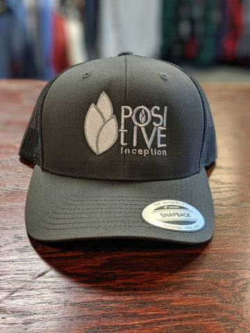 Positive Inception all grey mesh hat