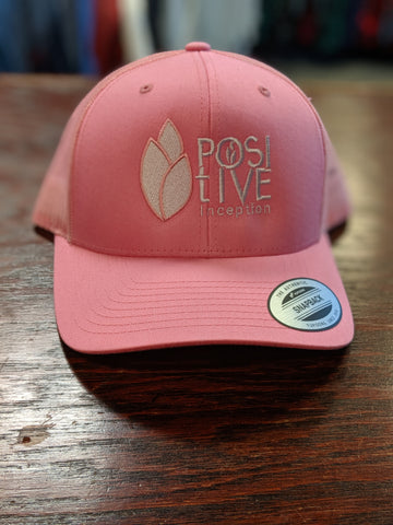 Positive Inception all pink mesh hat