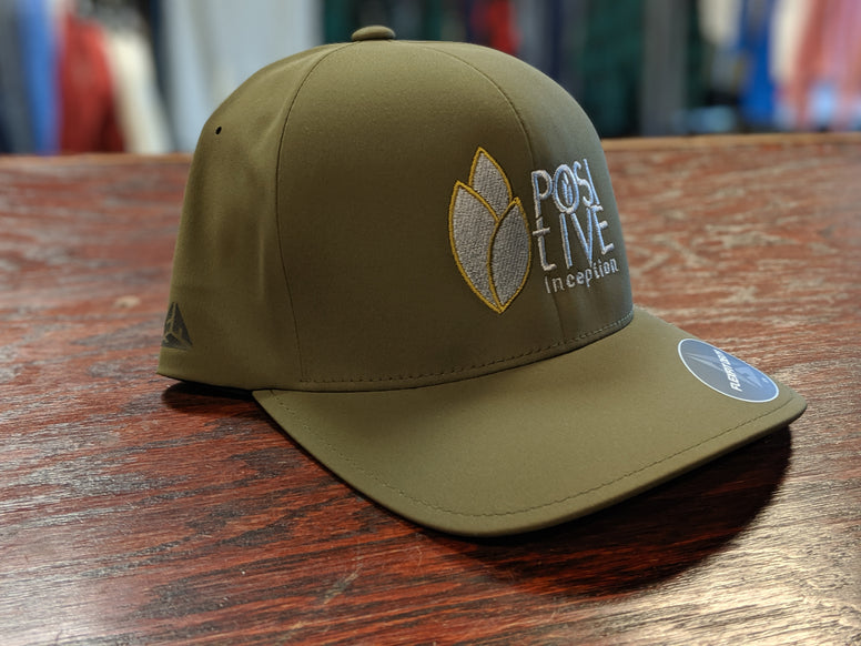 Olive Green Positive Inception Dry-Fit Full back Hat
