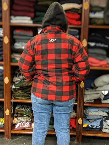 Unisex Red Plaid Jacket