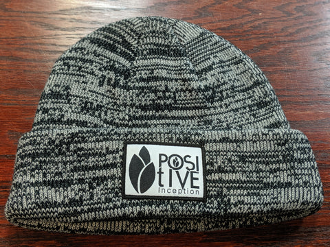Heather Black Toque