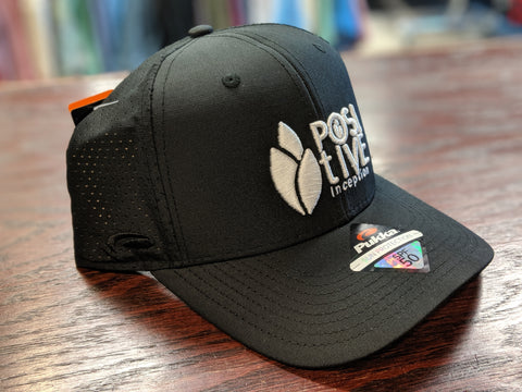 All Black Performance Snap Back Hat