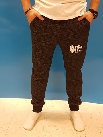Unisex Track Pants - Twisted Black