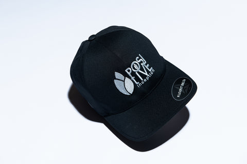 Black Dry-fit Positive Inception Full Back Hat