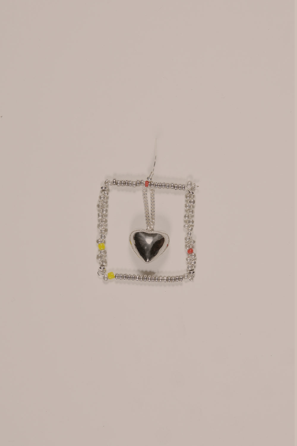 Heart Pendant Chandelier Earring