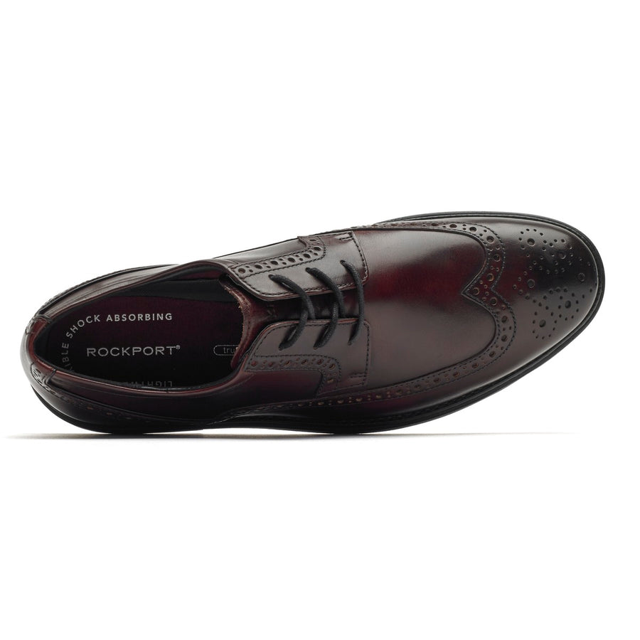 Madson Burgundy Leather Wingtip