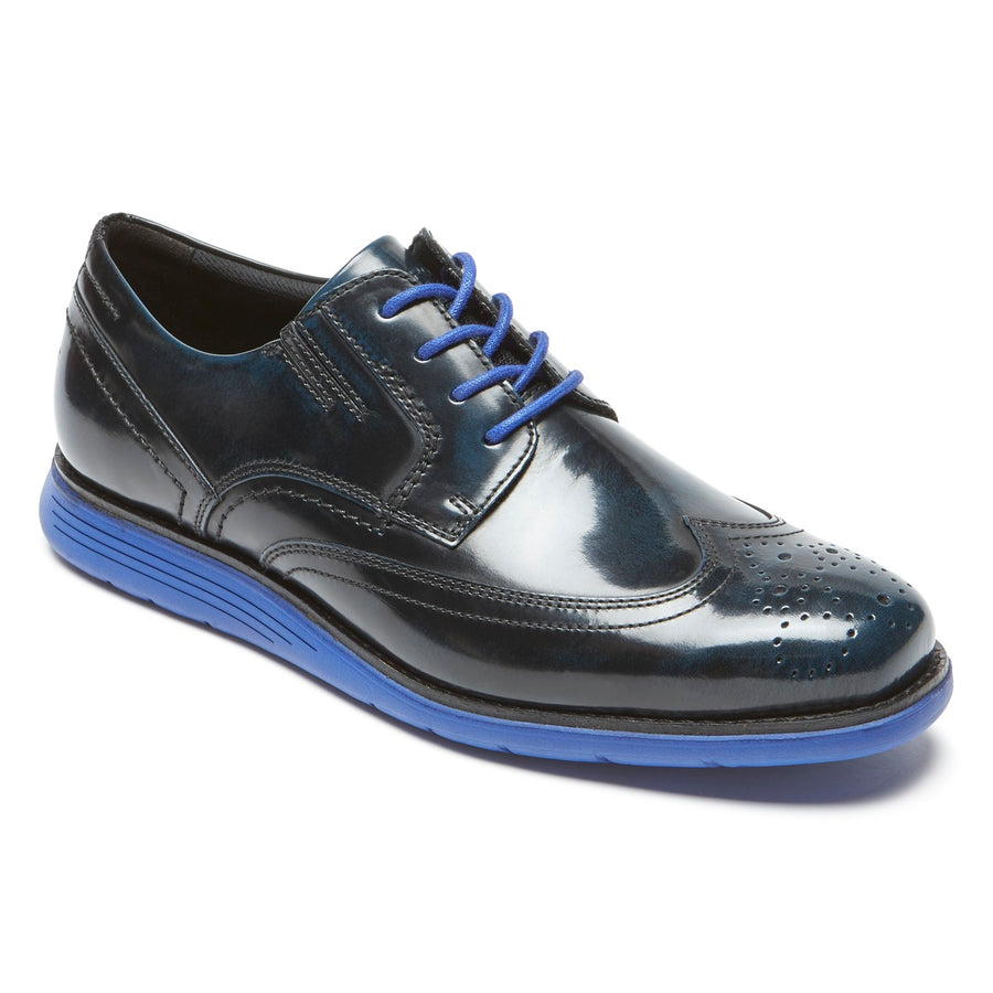 Total Motion Sport Dress New Dress Blues Box Leather Wingtip
