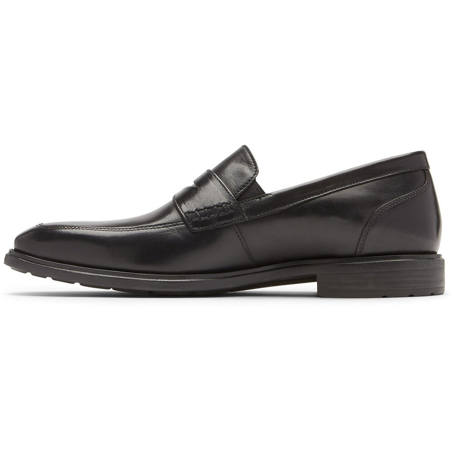 DresSports Business Penny Black Glass Loafer
