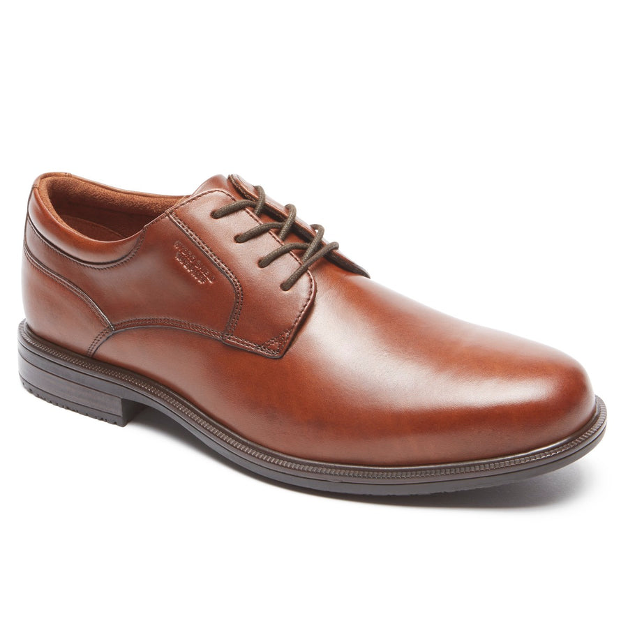 Essential Details II Tan Plain Toe Oxford