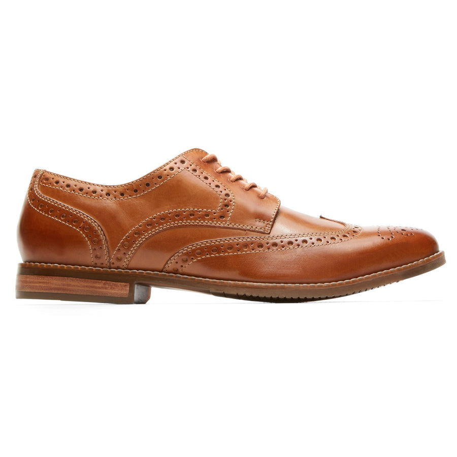 Style Purpose Tan Wingtip