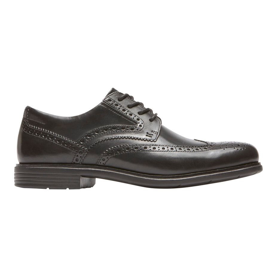 Total Motion Classic Dress Black Wingtip