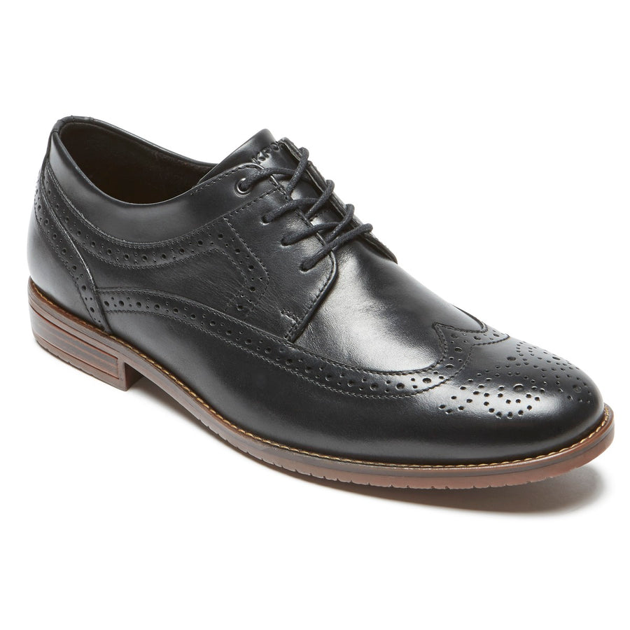Style Purpose III Black Wingtip