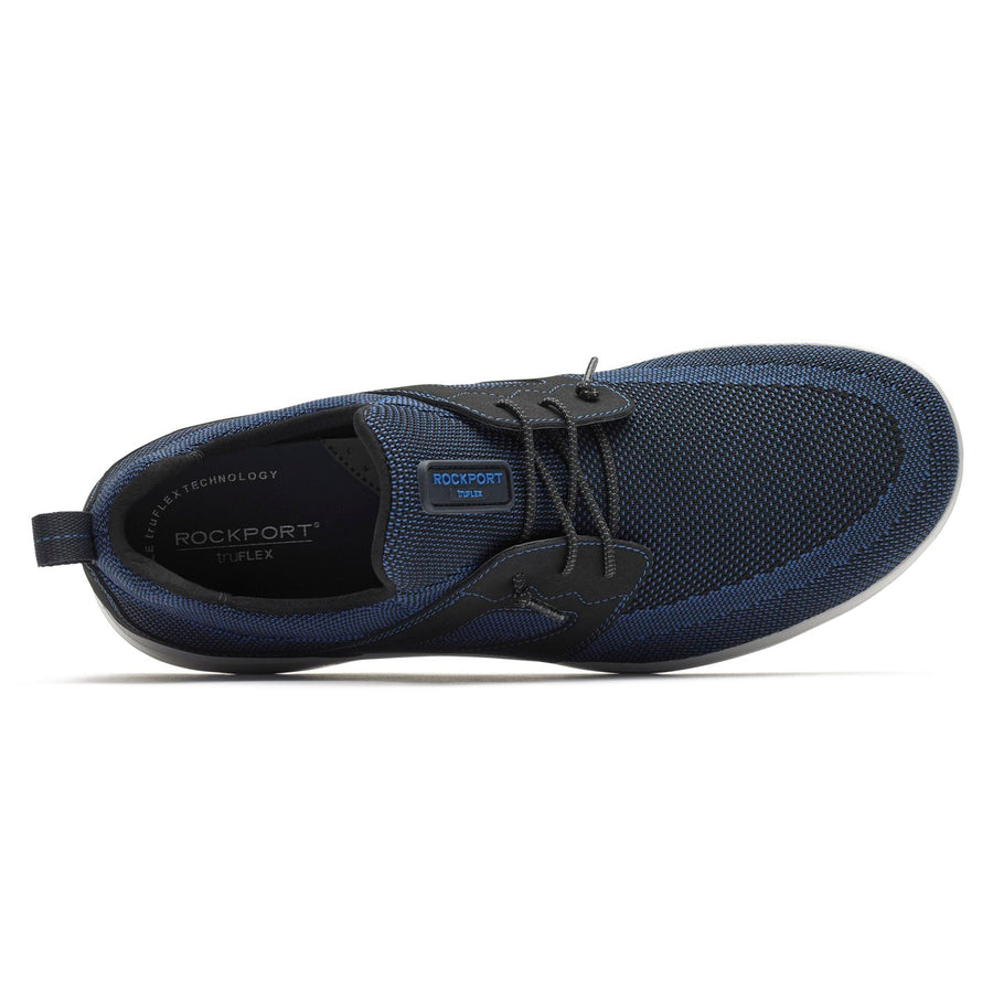 Truflex Mens Knit Blue/Black Bungee