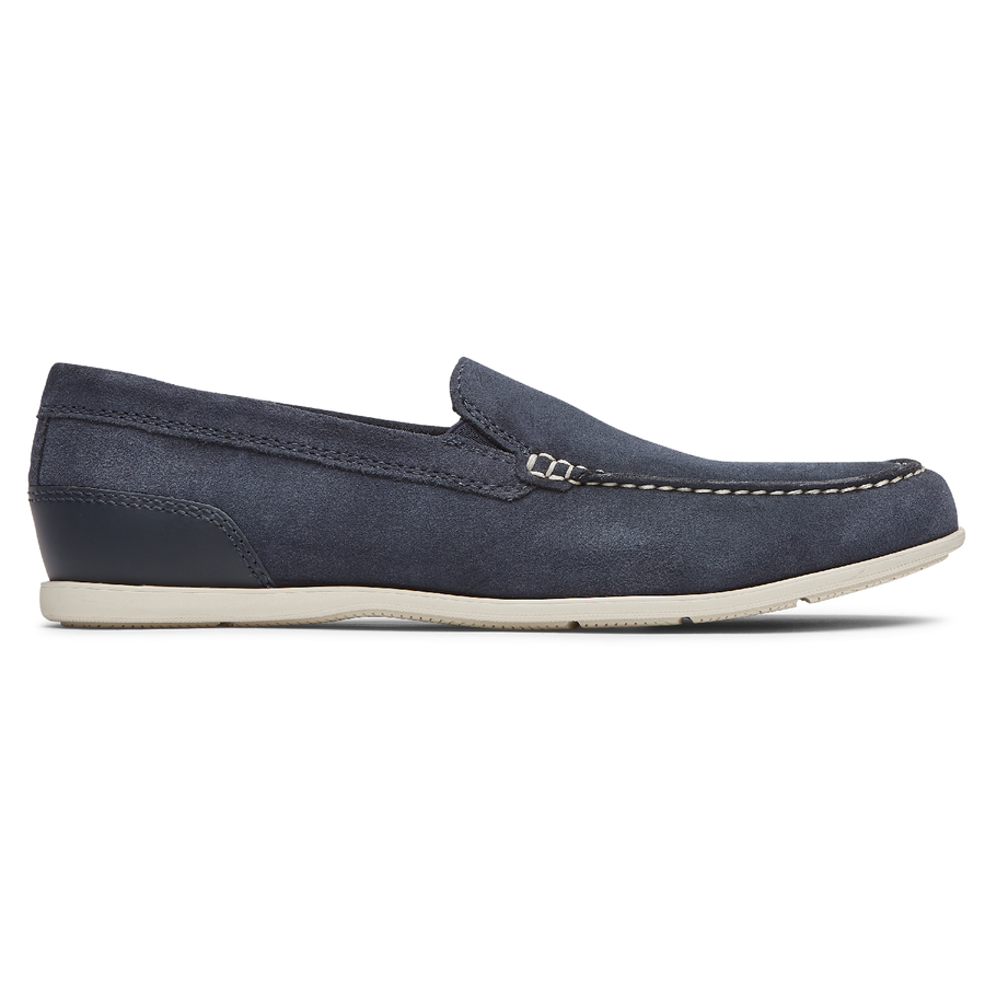 Malcolm New Dress Blues Suede Venetian Loafer