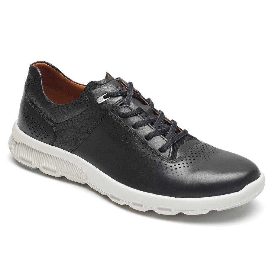 Lets Walk Men's Black Plaintoe