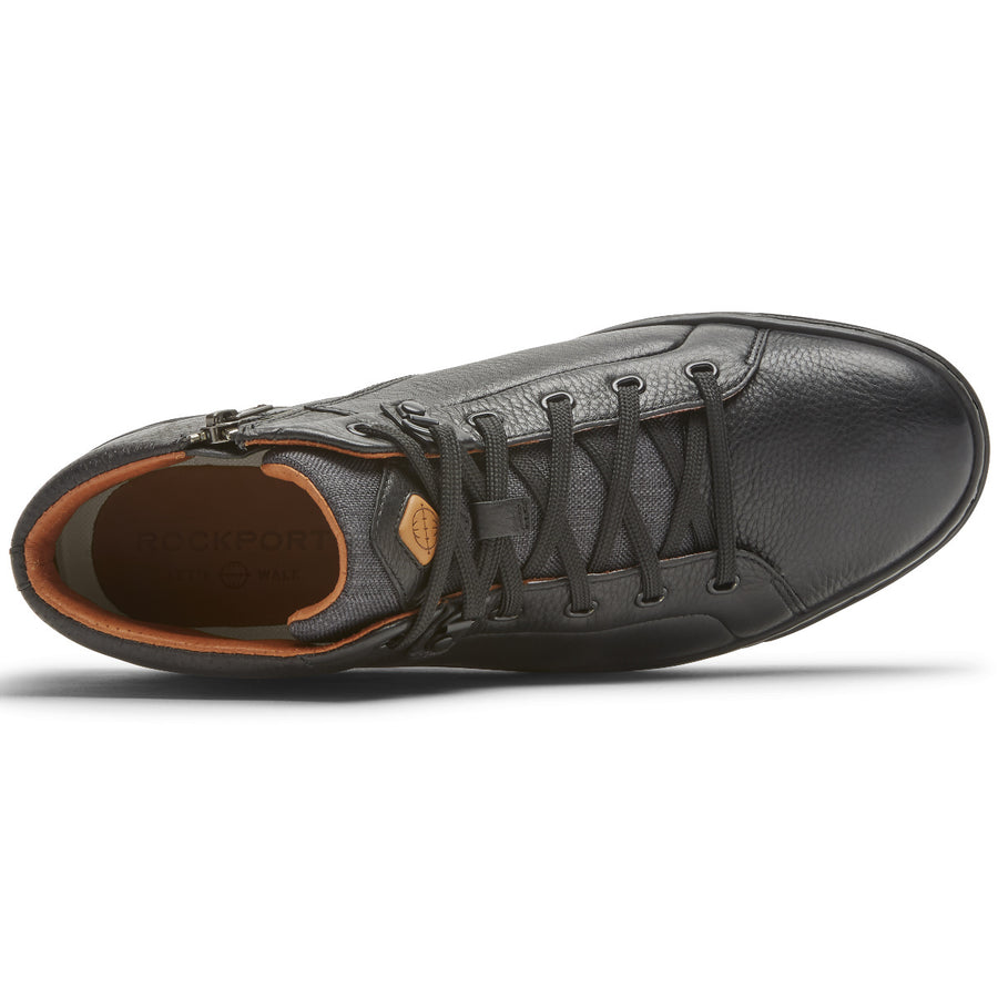 Let's Walk Men's Cupsole Black Mid